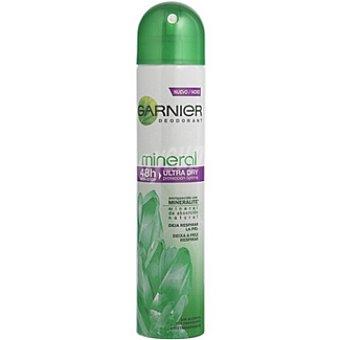 Mineral Garnier desodorante Ultra Dry protección óptima sin alcohol  spray 200 ml