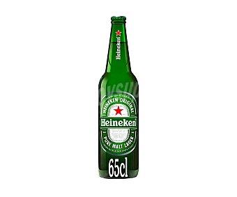 Heineken Cerveza rubia holandesa Botellín 650 ml