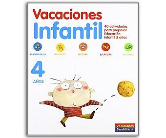 SANTILLANA Vacaciones Infantil 4 1 Unidad