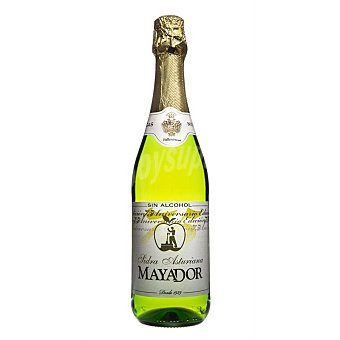 Mayador Sidra asturiana sin alcohol Botella 75 cl