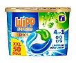 Detergente en cápsulas, 4 en 1 50 uds. x 25 g Wipp Express