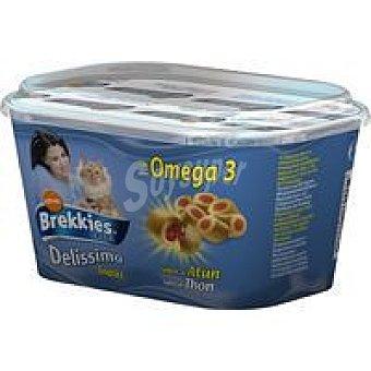 Brekkies Affinity Snack Delissimo de salmòn Tarrina 75 g