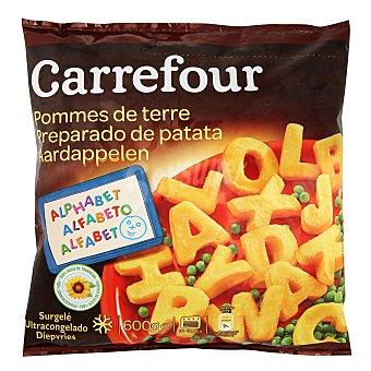 Carrefour Letras de patata 600 g