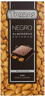 Torras Chocolate Negro con Almendras Enteras Torras 200 gr