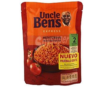 Uncle Ben's Arroz mediterráneo express Paquete de 250 grs