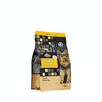 Compy Comida perro seca con pollo fresco y arroz supreme adulto razas pequeñas Paquete 1500 g