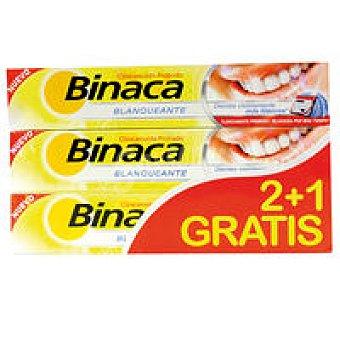 Binaca Binaca triplo blanqueante 2 + 1 gratis 1