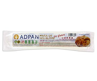 Adpan Masa de hojaldre sin gluten Paquete 250 g
