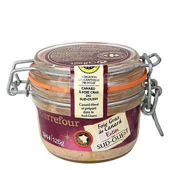 Carrefour Foie gras pato entero 125 g