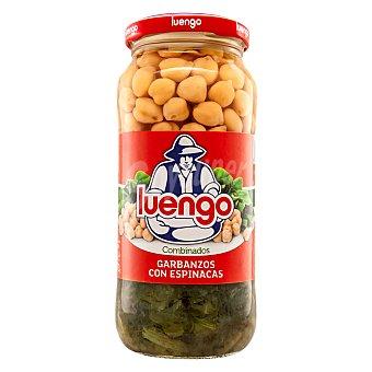 Luengo Garbanzos cocidos con espinacas 570 g
