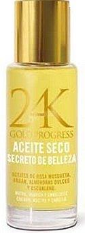 Deliplus Aceite seco cuerpo, rostro y cabello gold progress Botella 70 cc