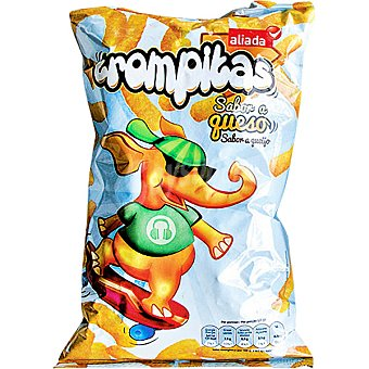 Aliada Snacks Trompitas sabor queso Bolsa 100 g