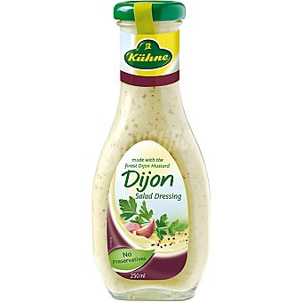 Kühne Salsa con mostaza French Dijon frasco 250 ml