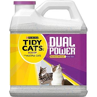 PURINA TIDY CATS Dual Power Cristales de sílice máxima absorción para gato Envase 6,36 kg