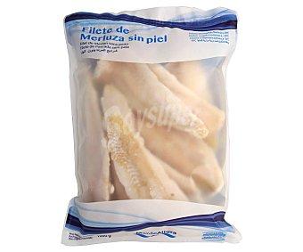 Mar de Altura Filetes de merluza sin piel Bolsa 1000 g