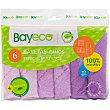 bayeta microfibra colores envase 6 unidades Bayeco