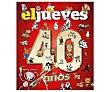 40 años de historia con el jueves. VARIOS AUTORES, Género: Juvenil, Editorial:  Editorial Rba