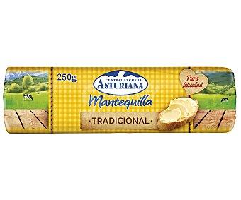 Central Lechera Asturiana Mantequilla en Rulo de C. Lechera 250 gr