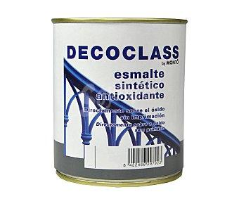DECOCLASS Esmálte metálico exterior antióxido, color gris perla 0,75 litros