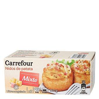 Carrefour Nidos de patata mixto 160 g