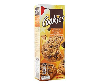 Auchan Cookies con pepitas chocolate 200 gramos
