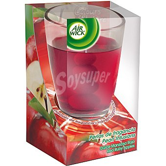 Air Wick Cera perfumada de manzana roja 1 ud