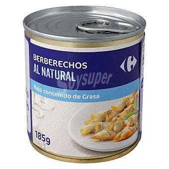 Carrefour Berberechos naturales 90 g