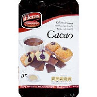 Heras Magdalena rellena de chocolate Paquete 336 g