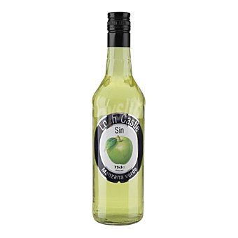 Loch Castle Licor sin alcohol sabor a manzana 75 cl