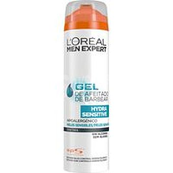 H. Sensitive L`OREAL Men Expert Gel de afeitar Spray 200 ml