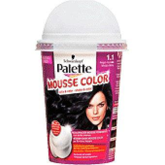Palette Schwarzkopf Tinte 1.1 Mousse Color 1 UNI