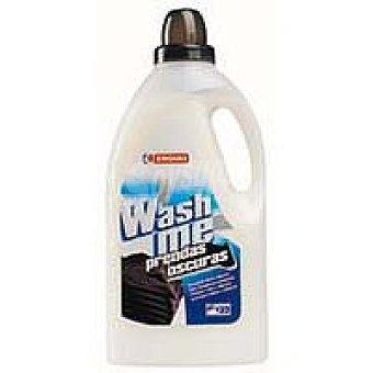 Eroski Detergente líquido ropa negra Botella 22 dosis
