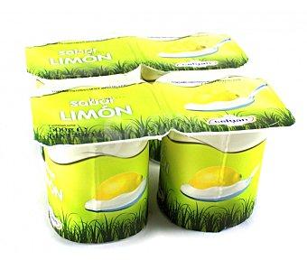 Celgan Yogur limón Pack de 4x125 g