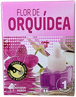 Bosque Verde Ambientador eléctrico recambio flor de orquidea u 25 cc