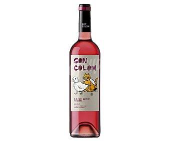 SON Vino rosado con denominación de origen Pla I llevant (mallorca) colom Botella de 75 cl
