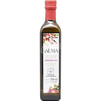 ALMA OLIVA aceite de oliva virgen extra arbequino  botella 500 ml
