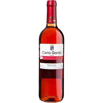 CERRO GORDO Vino rosado de Valencia  botella 75 cl
