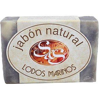 S&S pastilla de jabón natural de Lodos Marinos pastilla 100 g