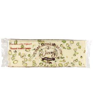 Vicens Turrón con yogurt, chocolate blanco y pistacho 400 g