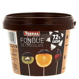 Torras Fondue de chocolate, 72% cacao 220 gramos