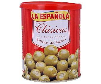 La Española Aceitunas verdes rellenas de anchoa 345 gramos