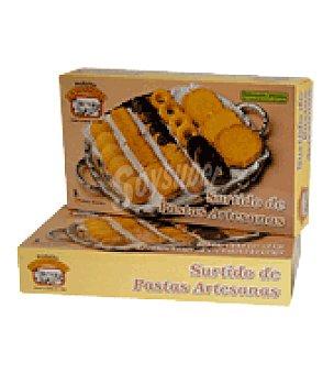 Productos La Luarquesa Surtido de pastas artesanas caja 450 g