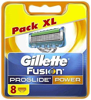 Gillette Recambio fusion proglide power 8 ud