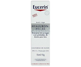Eucerin Contorno ojos, antiedad, Hyaluron 15 Mililitros