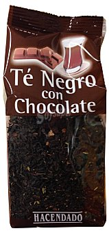 HACENDADO Infusión té negro con chocolate Paquete de 100 g