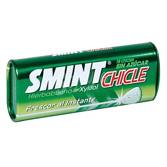 Smint Chicle sabor hierbabuena Lata 45 gr