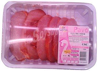 Procavi Pavo pechuga filetes al pimenton fresco Bandeja 500 g peso aprox.