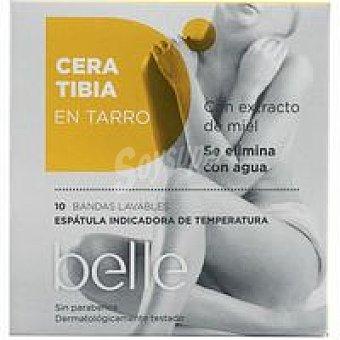 Belle Cera tibia con bandas Tarro 250 ml