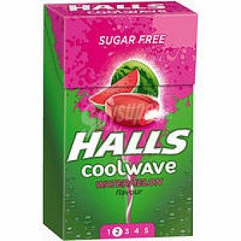 Halls Coolwave de sandía unitario 28 g