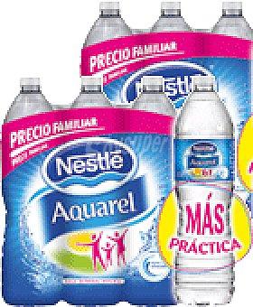 Aquarel Nestlé 2 PACKS DE AGUA MINERAL NATURAL + PELOTA DE PLAYA DE REGALO 1.5 LTS 12 UNIDADES